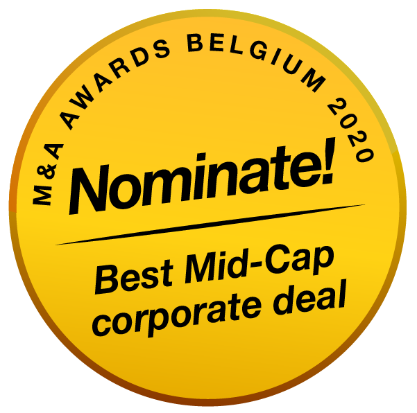 BE MenA Awards 2020 buttons nominate Best Mid Cap Corporate Deal