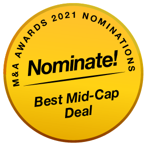 BE MenA Awards 2021 Buttons Nominate Best Mid-Cap Deal