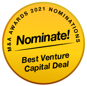 BE MenA Awards 2021 Buttons Nominate Best Venture Capital Deal